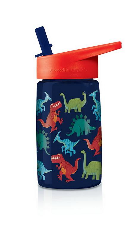 Drikkedunk med dinosaur - Blå