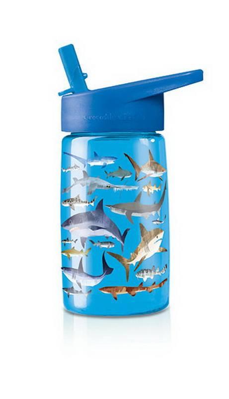 Drikkedunk med Hajer - Blå