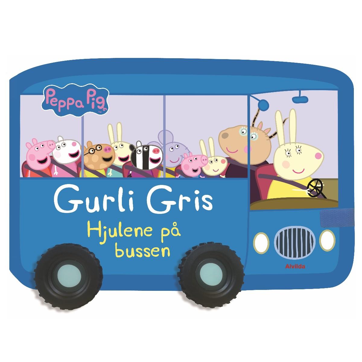 Gurli Gris - Hjulene på bussen