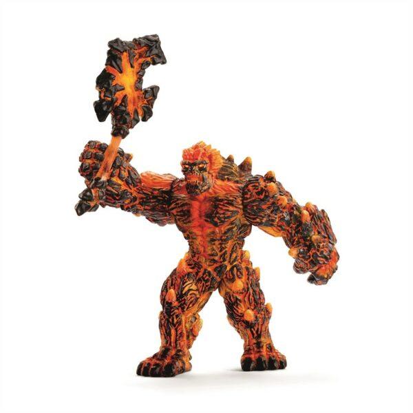 Lava golem with weapon - Schleich