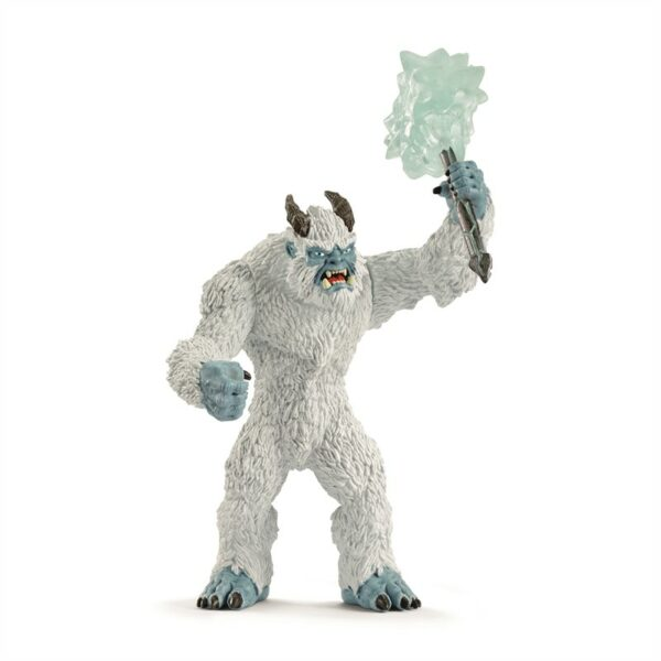 Ice monster with weapon - Schleich