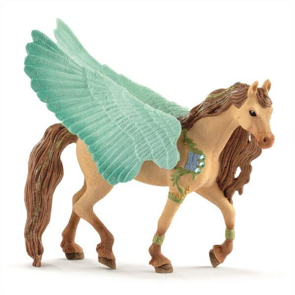 Decorated Pegasus stallion - Schleich