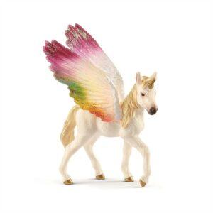 Winged rainbow unicorn, foal - Schleich