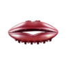 LIP claw large - Red glitter