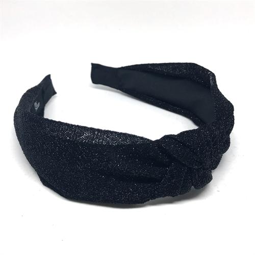 Hårbøjle - Glimmer sort