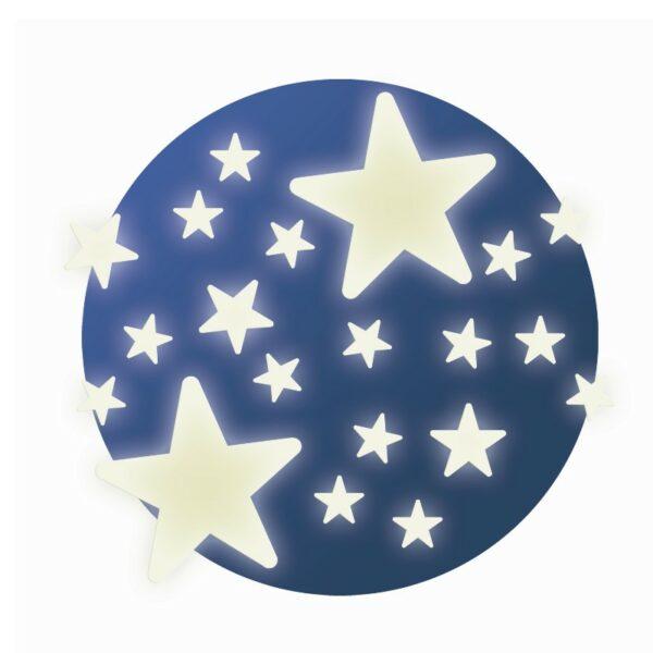 Selvlysende figurer - Stjerner