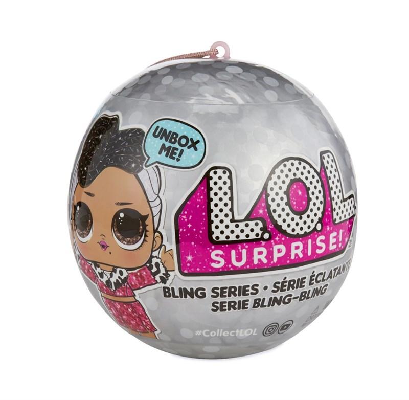 L.O.L. Surprise Dolls Bling Asst in PDQ