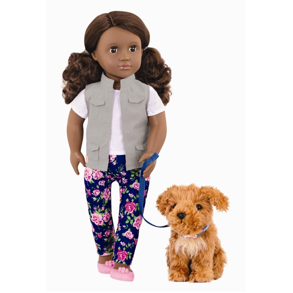 Dukke, Malia med hund - Our generation