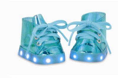 Sko med lys (blå) - Our generation