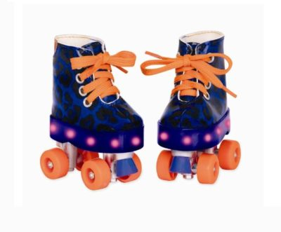 Sko med lys (rulleskøjter) - Our generation