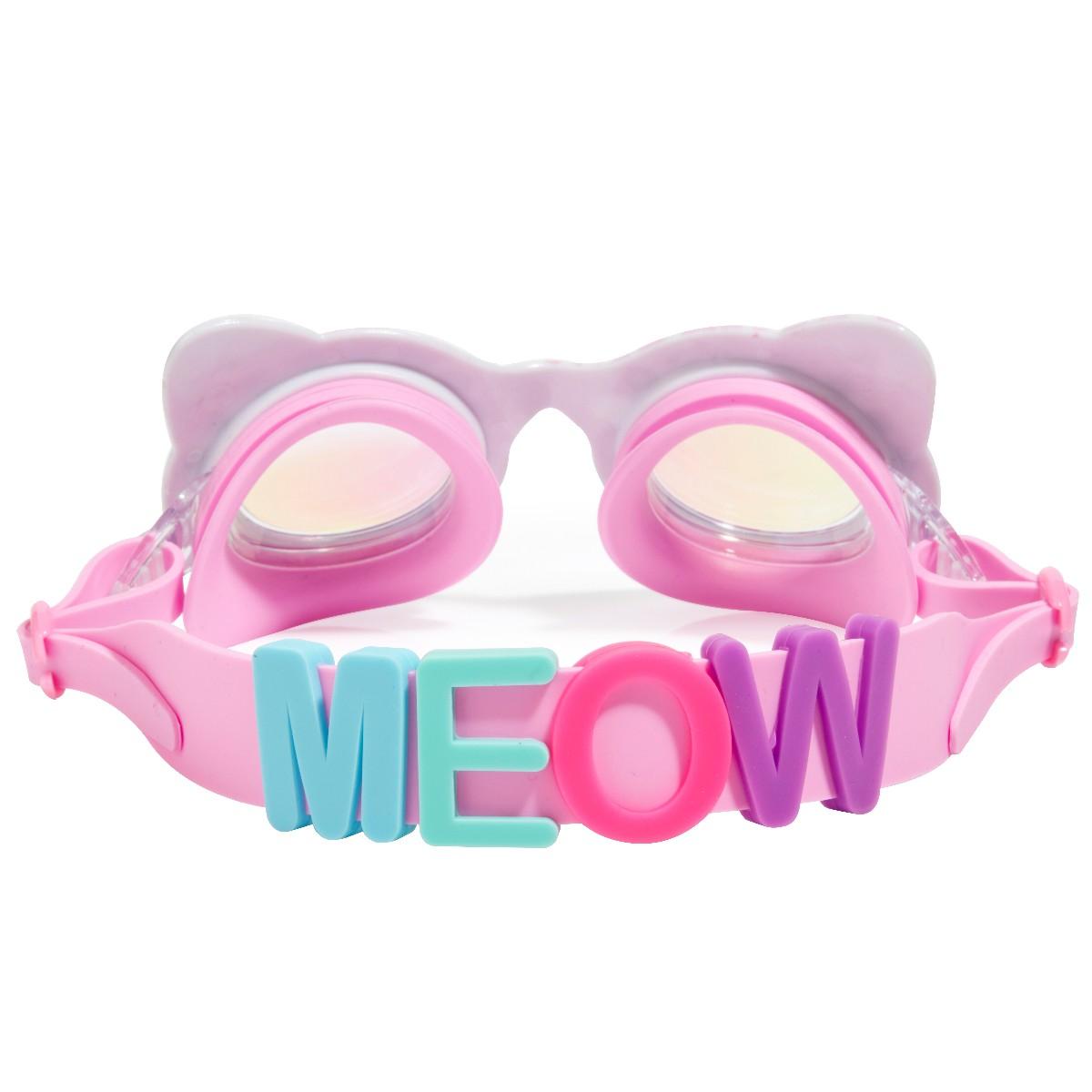 Svømmebrille, Kat lyserød