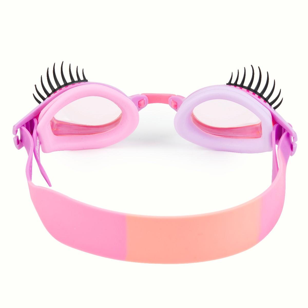 Svømmebrille, Øjenvipper